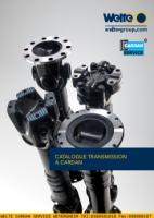 Catalogue transmission à cardan 2017