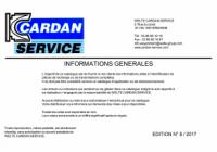 Info générale 2017